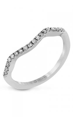 Zeghani Refined Rebel Wedding Band ZR744 product image