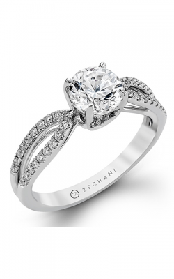 Zeghani Delicate Diva Engagement Ring ZR738 product image