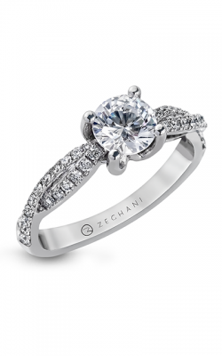 Zeghani Delicate Diva Engagement Ring ZR717 product image