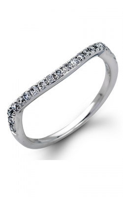 Zeghani Delicate Diva Wedding Band ZR708 product image