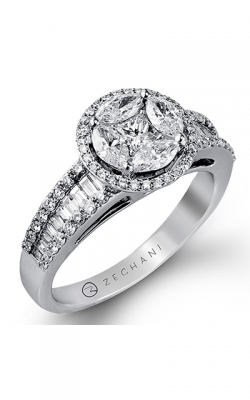 Zeghani Vintage Vixen Engagement Ring ZR682 product image