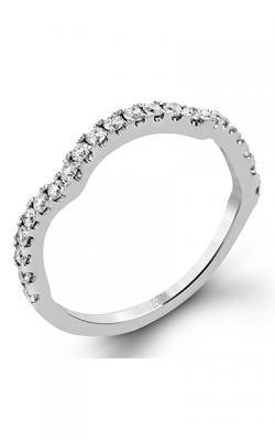 Zeghani Delicate Diva Wedding Band ZR670 product image