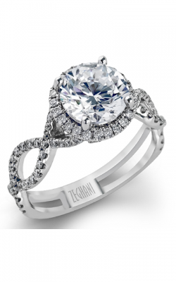 Zeghani Blindingly Beautiful Engagement Ring ZR622 product image