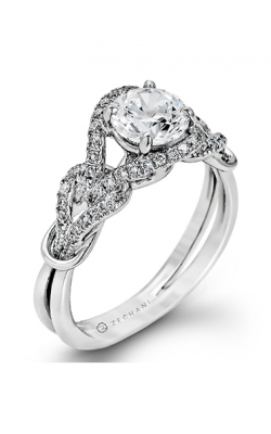Zeghani Delicate Diva Engagement Ring ZR589 product image