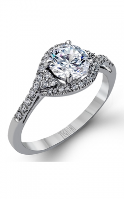 Zeghani Vintage Vixen Engagement Ring ZR582 product image