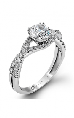 Zeghani Delicate Diva Engagement Ring ZR562 product image