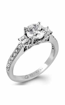 Zeghani Delicate Diva Engagement Ring ZR446 product image