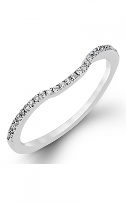 Zeghani Delicate Diva Wedding Band ZR496 product image