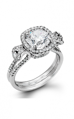 Zeghani Vintage Vixen Engagement ring ZR495 product image