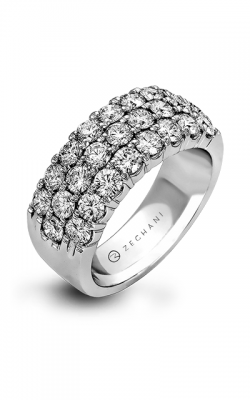 Zeghani Blindingly Beautiful Wedding band ZR489 product image