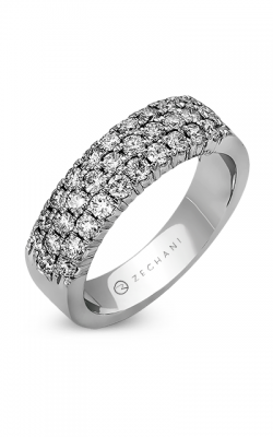 Zeghani Blindingly Beautiful Wedding Band ZR488 product image
