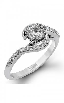 Zeghani Refined Rebel Engagement Ring ZR482 product image