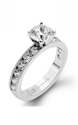 Zeghani Vintage Vixen Engagement Ring ZR47-A product image