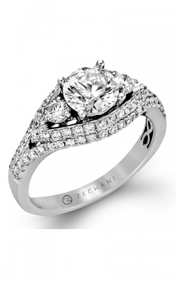 Zeghani Blindingly Beautiful Engagement ring ZR452 product image