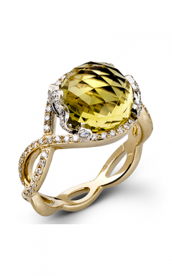 Zeghani Refined Rebel Fashion Ring ZR441 product image