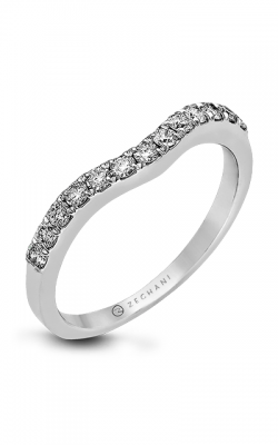 Zeghani Delicate Diva Wedding Band ZR438 product image