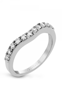 Zeghani Delicate Diva Wedding Band ZR437 product image