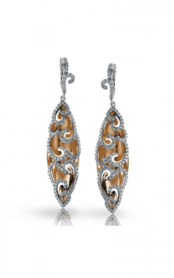 Zeghani Refined Rebel Earrings ZE410 product image