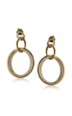 Zeghani Delicate Diva Earrings ZE439 product image