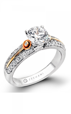 Zeghani Refined Rebel Engagement ring ZR424 product image