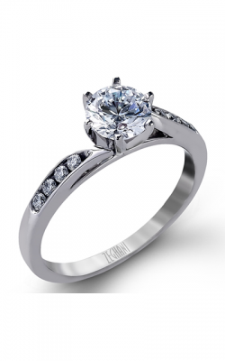 Zeghani Delicate Diva Engagement Ring ZR416 product image
