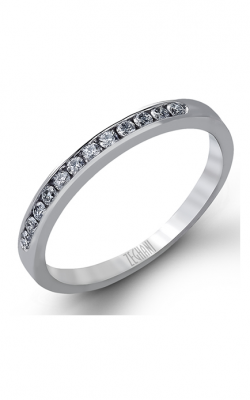 Zeghani Delicate Diva Wedding Band ZR416 product image
