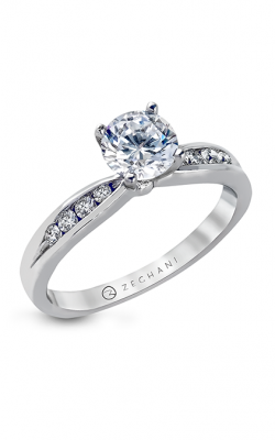 Zeghani Delicate Diva Engagement Ring ZR415 product image