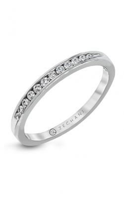 Zeghani Delicate Diva Wedding Band ZR415 product image