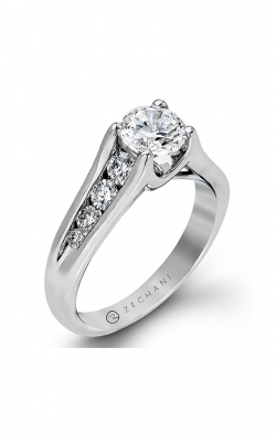 Zeghani Delicate Diva Engagement Ring ZR409 product image