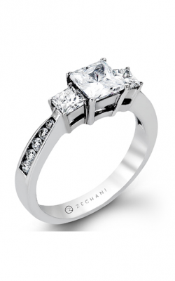 Zeghani Delicate Diva Engagement Ring ZR404 product image