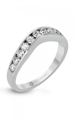 Zeghani Delicate Diva Wedding Band ZR402 product image