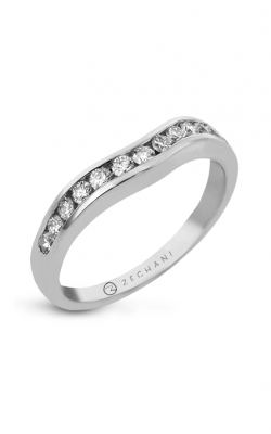 Zeghani Delicate Diva Wedding band ZR401 product image