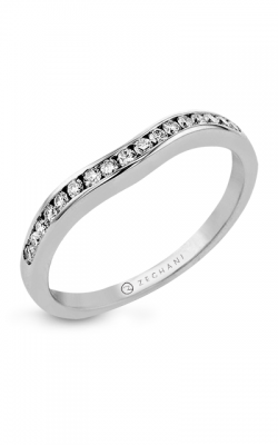Zeghani Delicate Diva Wedding Band ZR400 product image