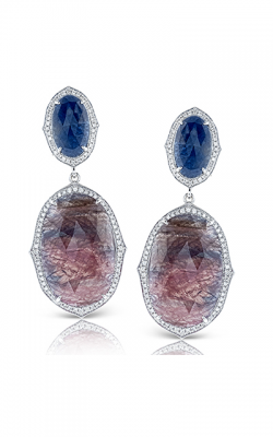 Zeghani Refined Rebel Earrings ZE490 product image