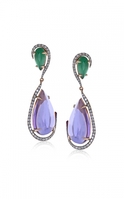 Zeghani Refined Rebel Earrings ZE528 product image