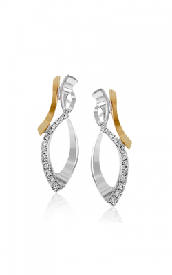 Zeghani Refined Rebel Earrings ZE545 product image