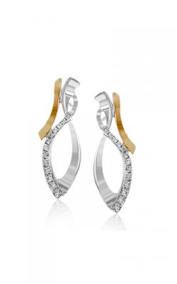 Zeghani Refined Rebel Earrings ZE545 product image