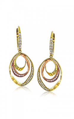 Zeghani Refined Rebel Earrings ZE549 product image