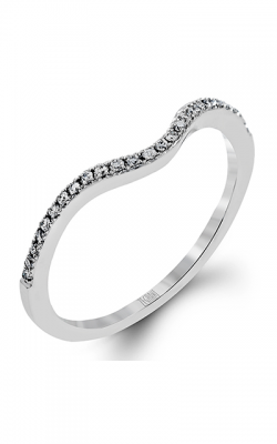 Zeghani Vintage Vixen Wedding Band ZR345 product image