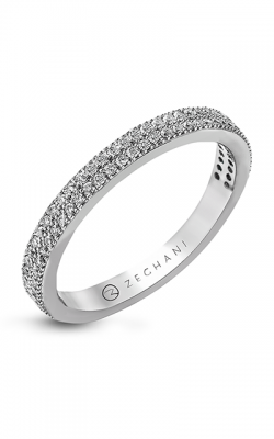 Zeghani Classic Beauty Wedding Band ZR263 product image