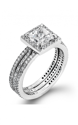 Zeghani Blindingly Beautiful Engagement ring ZR257 product image