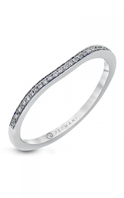 Zeghani Delicate Diva Wedding Band ZR226 product image