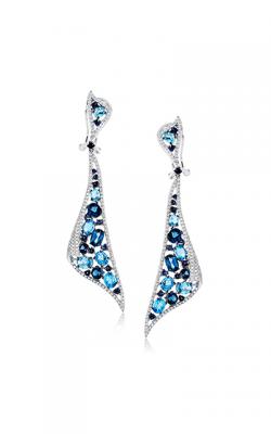 Zeghani Refined Rebel Earrings ZE589 product image