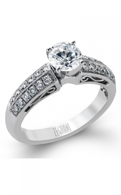 Zeghani Vintage Vixen Engagement Ring ZR202 product image