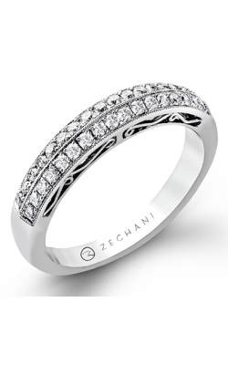 Zeghani Vintage Vixen Wedding Band ZR202 product image