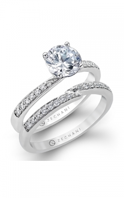 Zeghani Delicate Diva Engagement Ring ZR170 product image