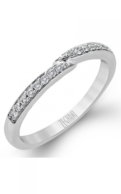 Zeghani Delicate Diva Wedding Band ZR170 product image