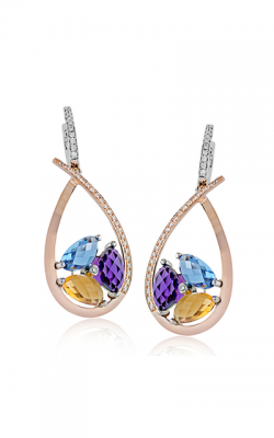 Zeghani Refined Rebel Earring ZE604 product image