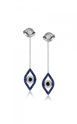 Zeghani Refined Rebel Earrings ZE614 product image