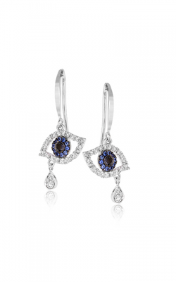 Zeghani Refined Rebel Earrings ZE615 product image
